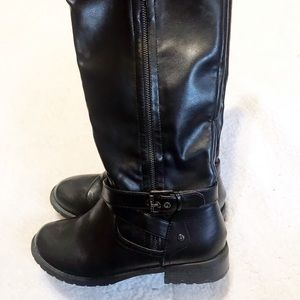 G by Guess tall moto riding boots size 8